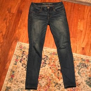 American Eagle medium wash jegging jeans